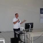 Palestra apresentada pelo acadêmico João Bosco Cavalcante Albuquerque. Foto: Sinué Naico