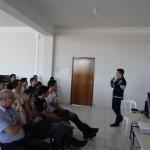 Palestra apresentada pelo acadêmico Ademir Lima. Foto: Sinué Naico