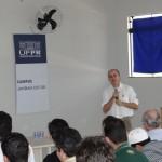 Palestra apresentada pelo professor Dr. Raimundo Alberto Tostes. Foto: Sinué Naico