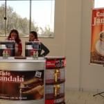 O evento contou com o apoio do Café Jandaia. Foto: Sinué Naico