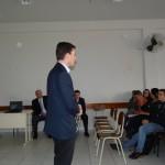 Diretor do Campus Prof. Roberto Pettres realizando a abertura do encontro - Foto: Sinué Naico