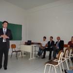 Apresentação do Coordenador de Propriedade Intelectual, Alexandre Donizete Lopes de Moraes - Foto: Sinué Naico