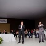 Apresentação do plano diretor pelo Professor Doutor Paulo Pacheco. FOTO: Marcos Solivan