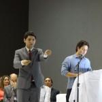 Intérprete de Libras Anderson Rafael Siqueira Nascimento. FOTO: Marcos Solivan