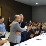 Reitor e Prefeito na assinatura do documento. FOTO: Cristiano Selegrin