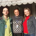 Raffaello Popa Di Bernardi – Médico do Trabalho e Jussara  Freitas Trancoso - Enfermeira, ambos integrantes do SESAO (Serviço de Segurança e Saúde Ocupacional) com Andréia Assman Pettres - Enfermeira do Campus Avançado em Jandaia do Sul