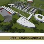 Proposta do projeto para futuras instalações do campus da UFPR em Jandaia do Sul.