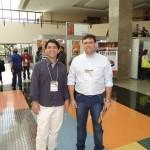 Da esquerda para direita Anderson Rafael Siqueira Nascimento  (Membro do CSEx-JA); Leandro Henrique Trapp – (Vice-Presidente do CSEx-JA)