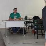 As apresentações orais foram mediadas pelo representante do CSEx-JA – Leandro Henrique Trapp;