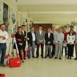 Grupo que participou da entrega dos equipamentos. Foto:Leonardo Betinelli