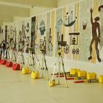 Equipamentos para as aulas de campo. Foto:Leonardo Betinelli