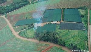 Vista aérea da área de 240.000m² onde será construído o campus